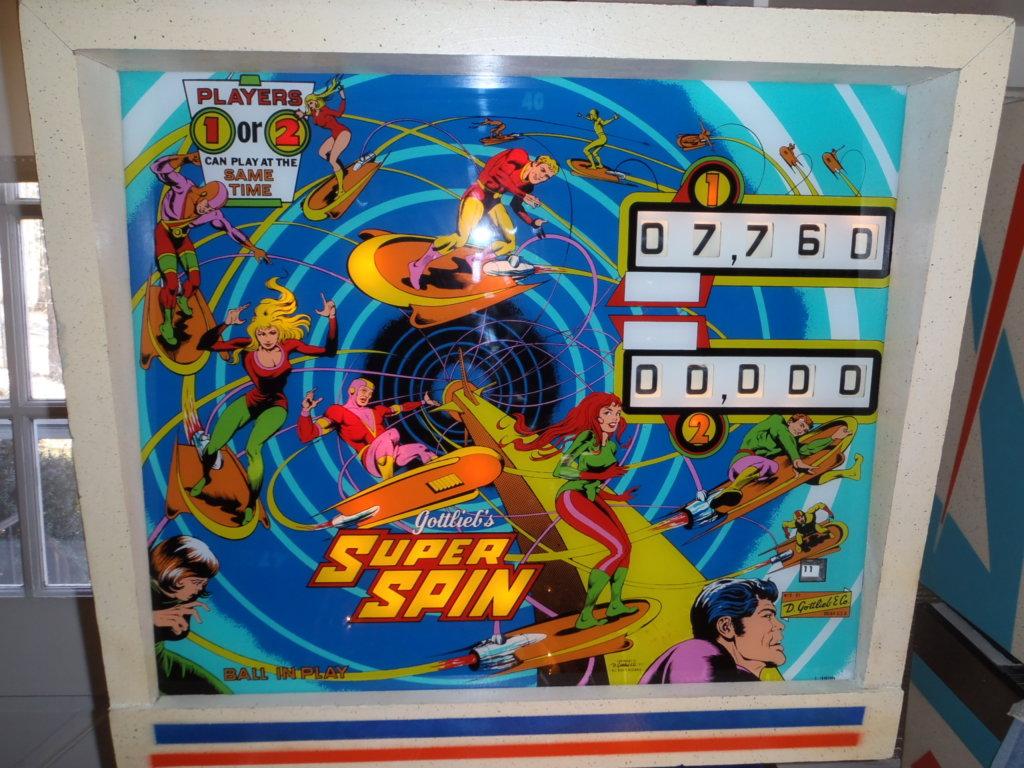Super Spin Pinball Mods