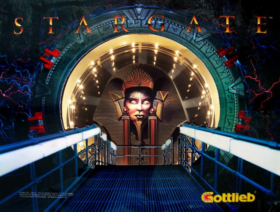Stargate Pinball Mods