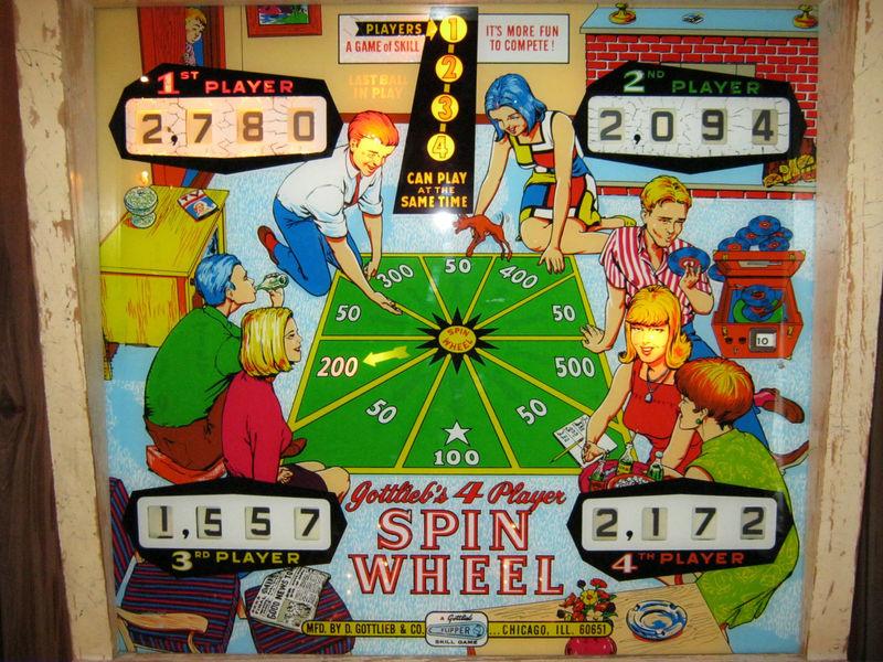 Spin Wheel Pinball Mods