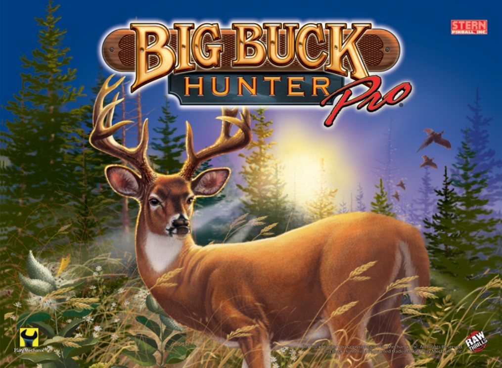 Big Buck Hunter Pro Pinball Mods