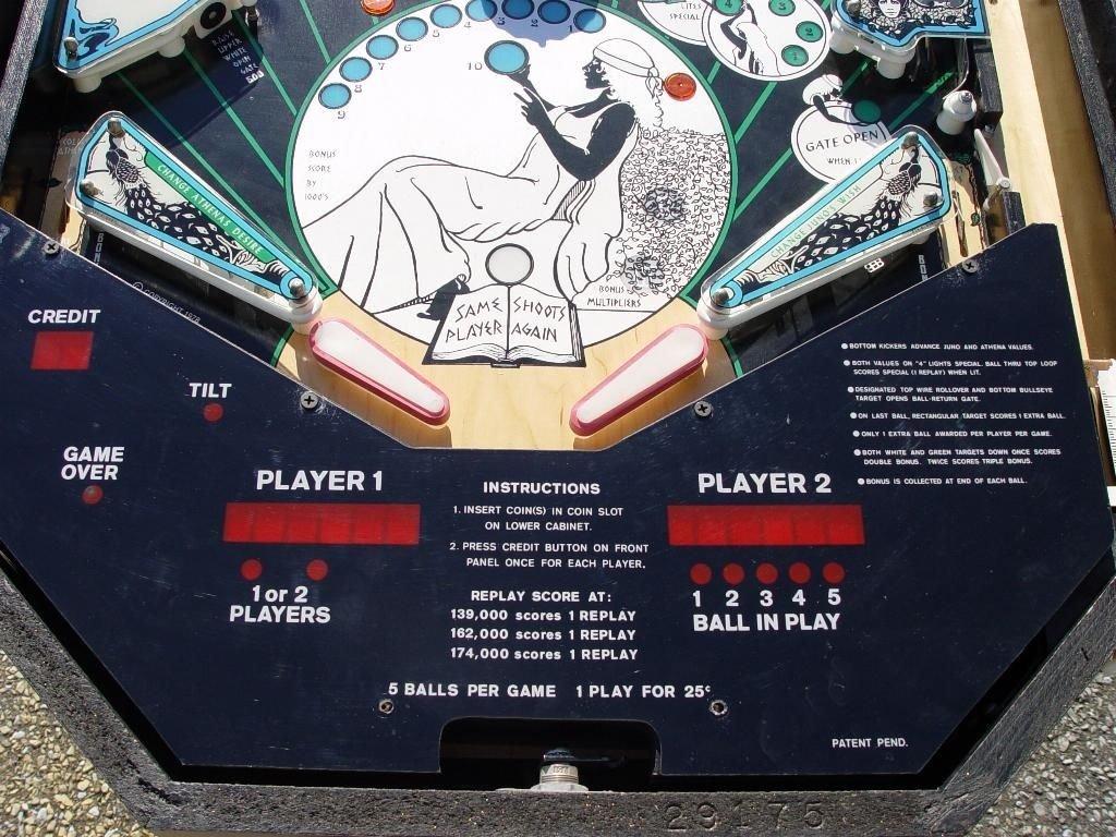 Flame of Athens Pinball Mods
