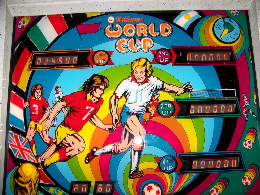 World Cup Pinball Mods
