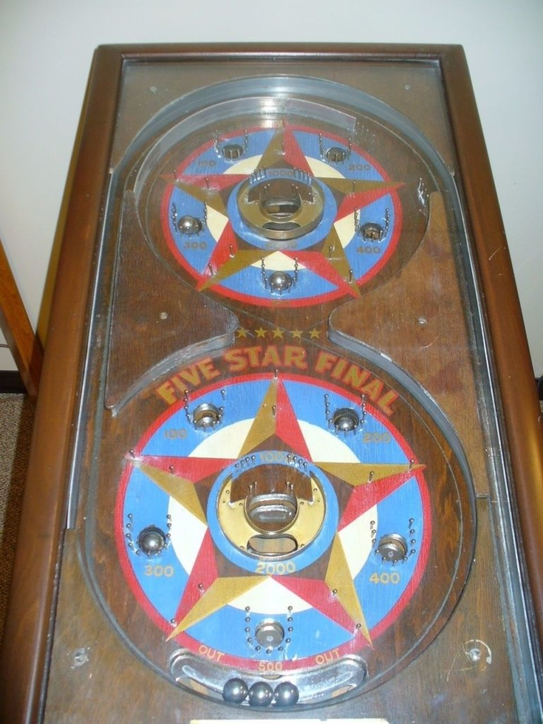 Five Star Final Jr. Pinball Mods