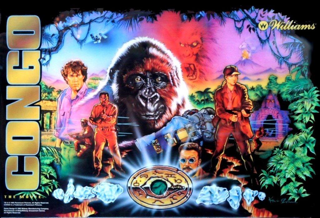 Congo Pinball Mods