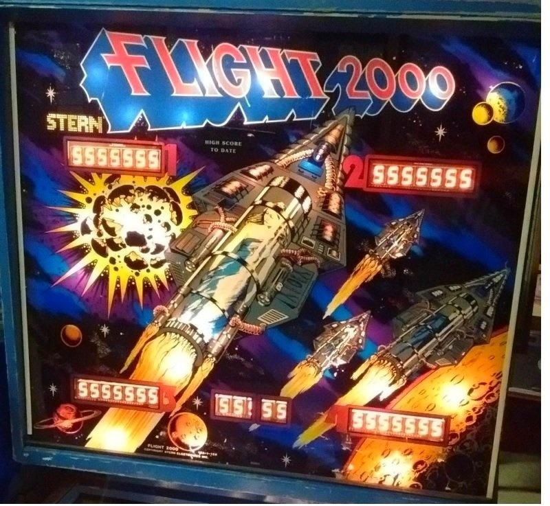 Flight 2000 Pinball Mods