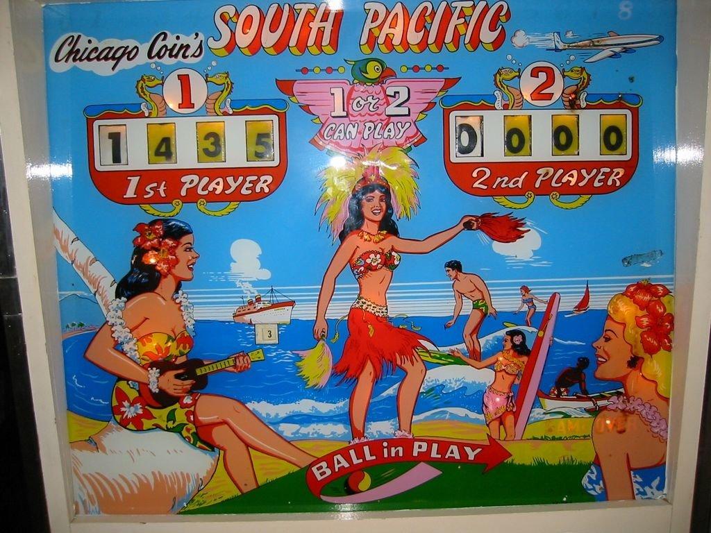 South Pacific Pinball Mods