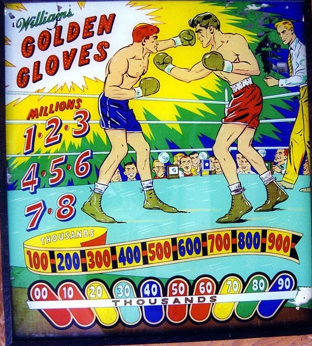Golden Gloves Pinball Mods