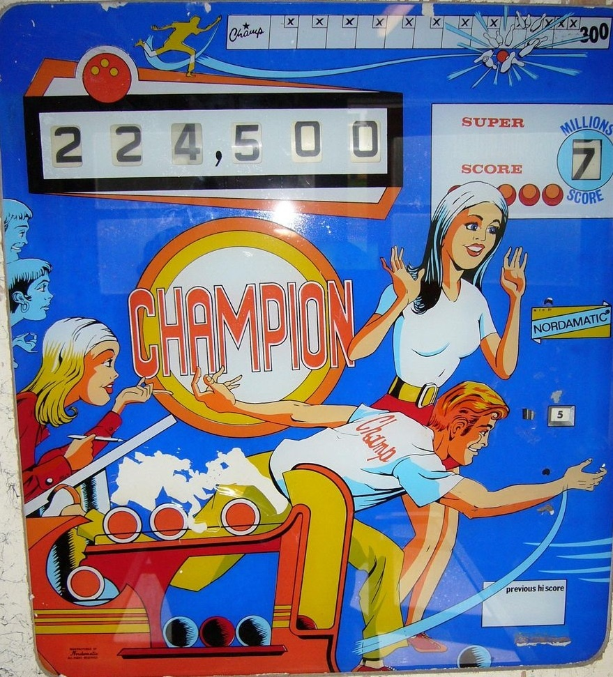 Champion Pinball Mods