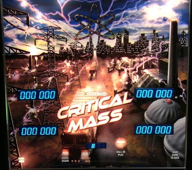 Critical Mass Pinball Mods