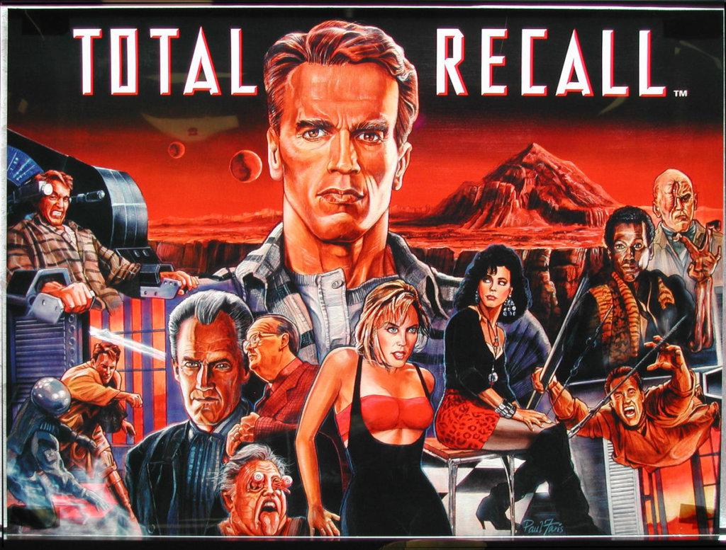Total Recall Pinball Mods