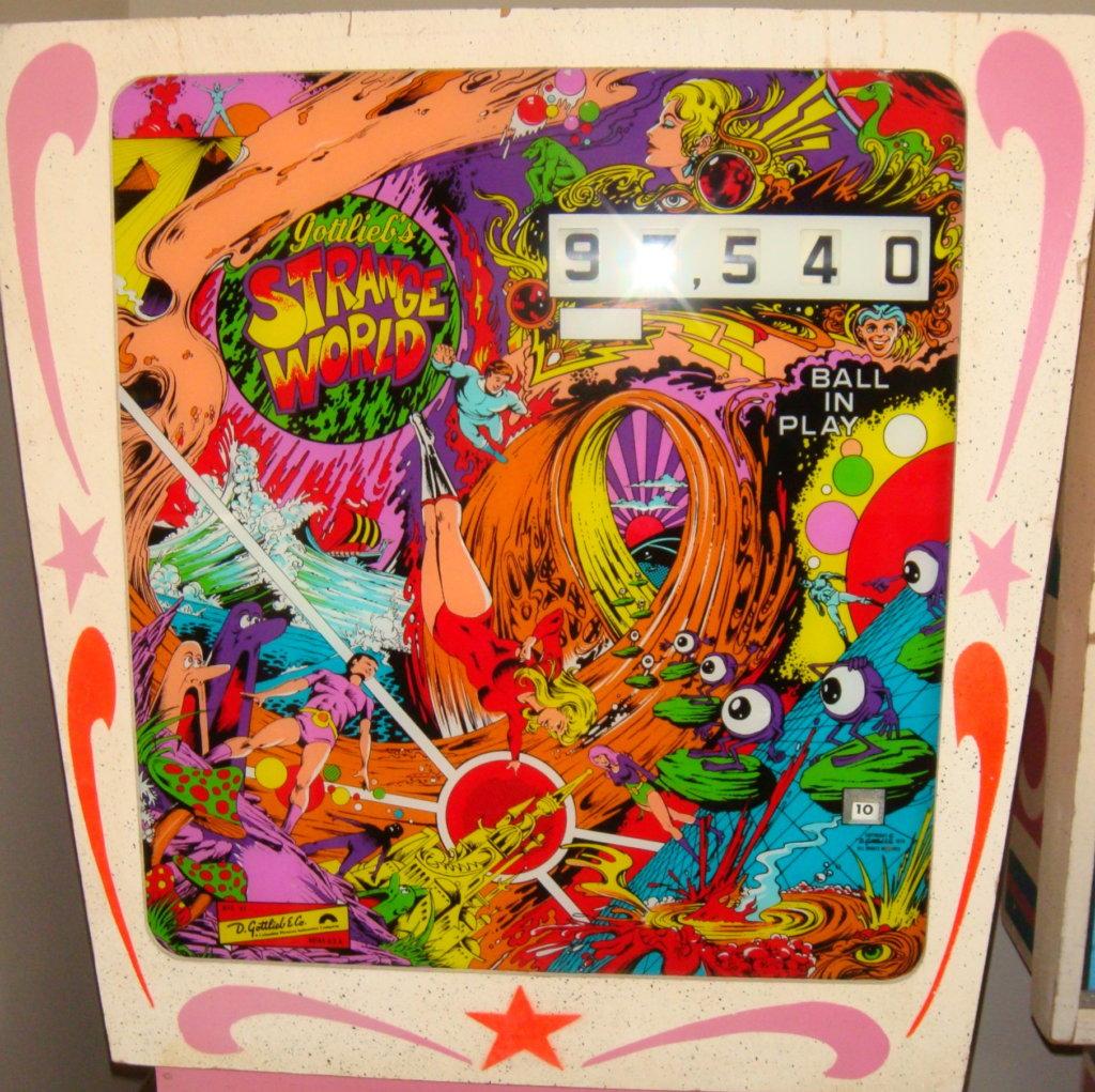 Strange World Pinball Mods