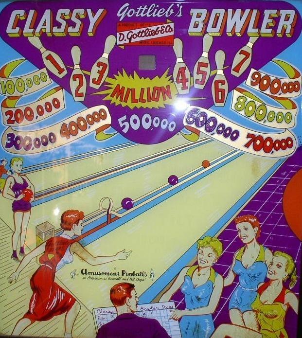 Classy Bowler Pinball Mods