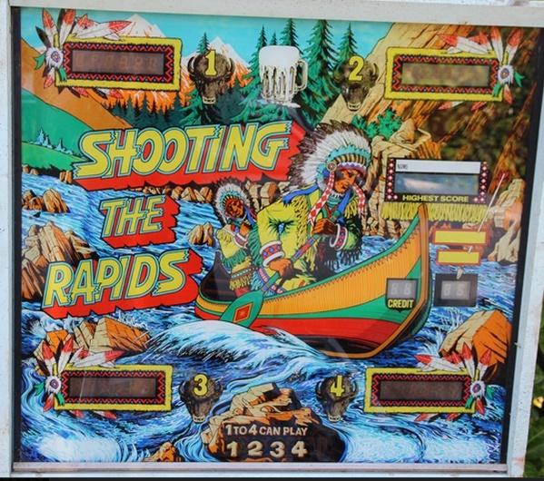 Shooting the Rapids Pinball Mods