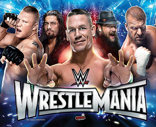 WWE Wrestlemania (Pro) Pinball Mods