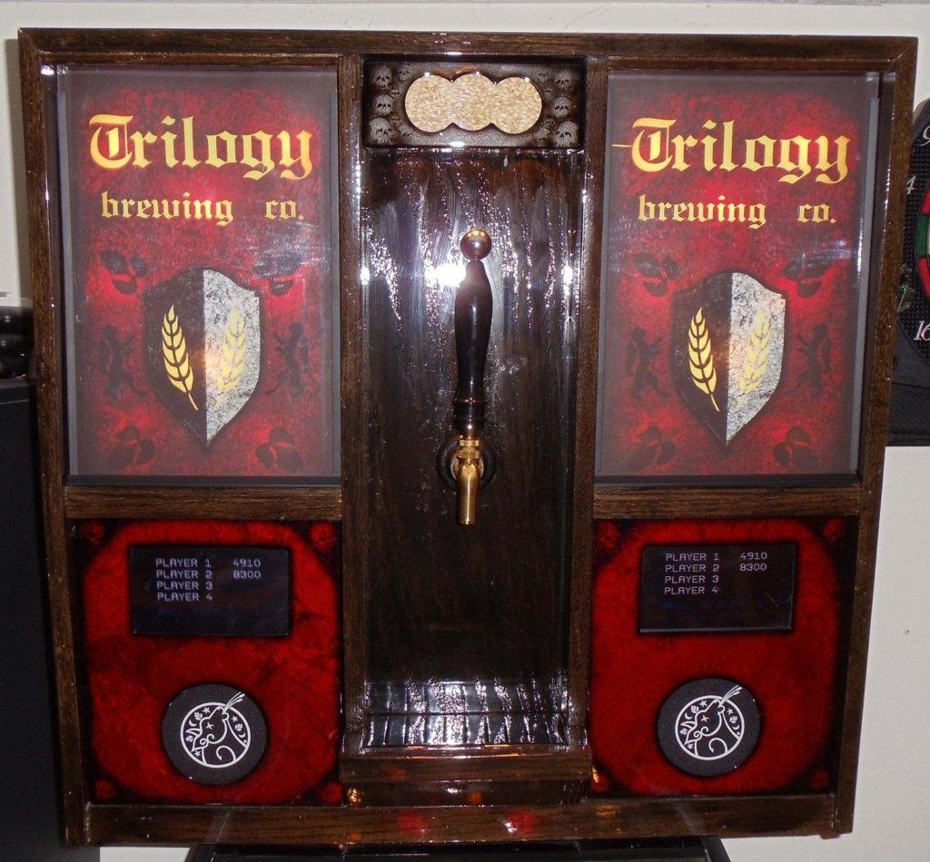 Trilogy Brewing Co. Pinball Mods