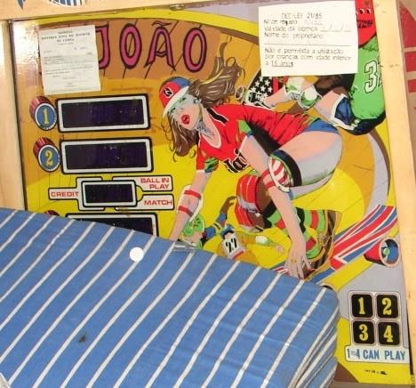 Skate Board Pinball Mods