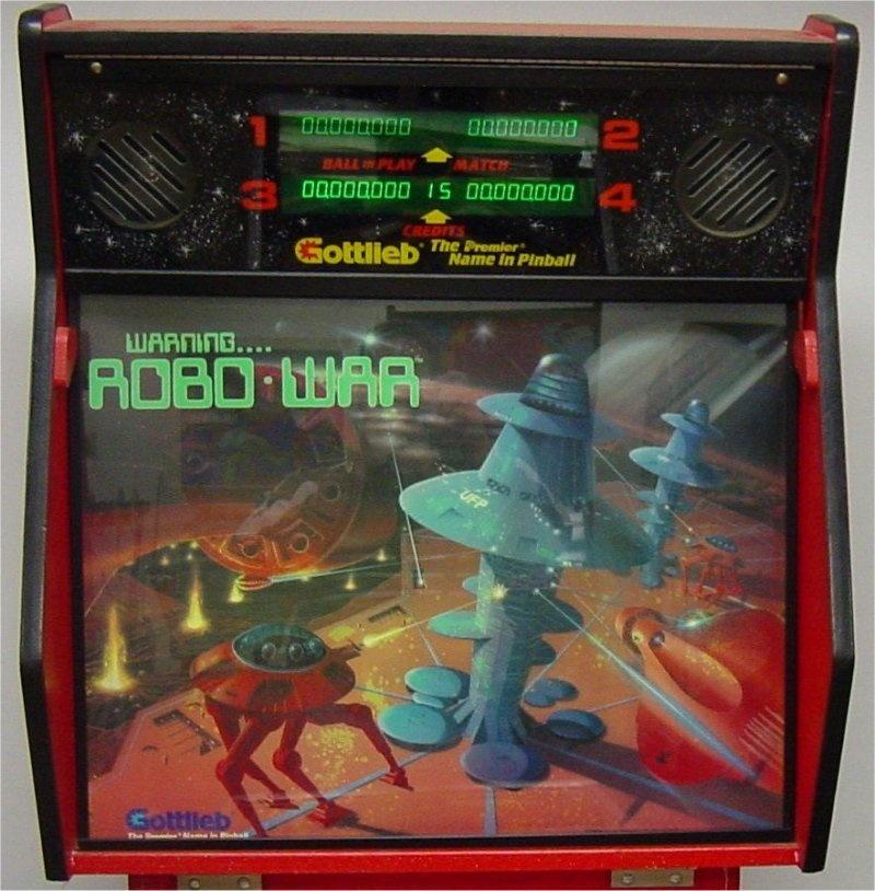Robo-War Pinball Mods