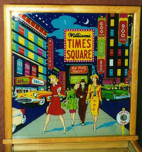 Times Square Pinball Mods