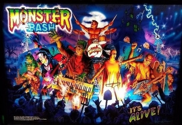 Monster Bash (Limited Edition) Pinball Mods