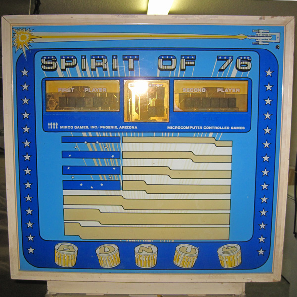 Spirit of 76 Pinball Mods