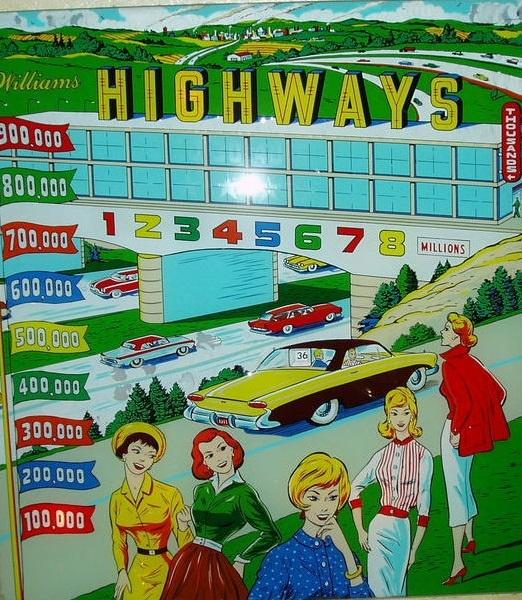 Highways Pinball Mods
