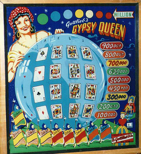 Gypsy Queen Pinball Mods