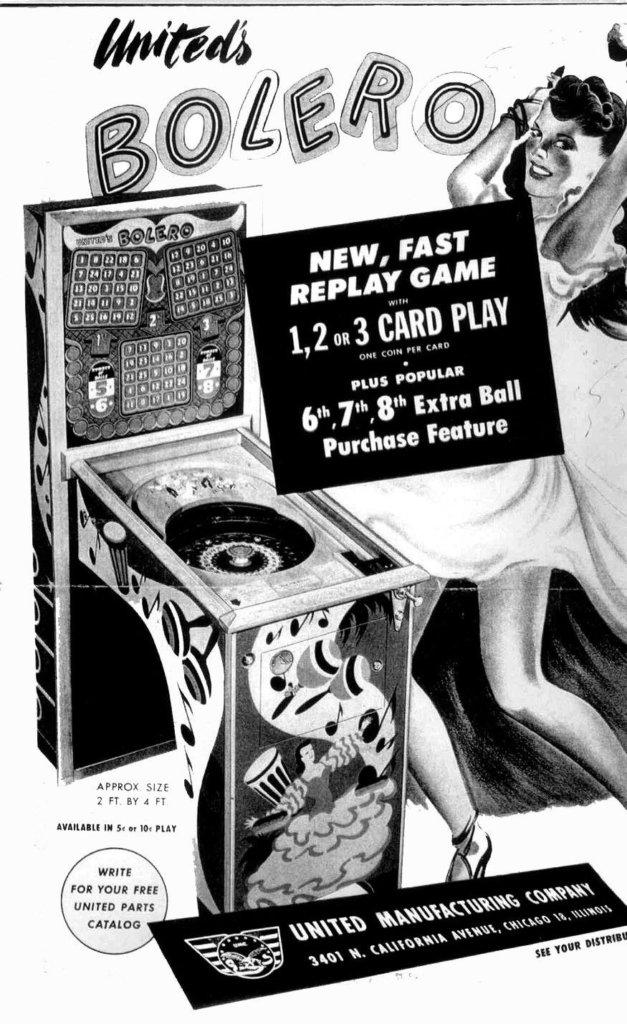 Bolero Pinball Mods