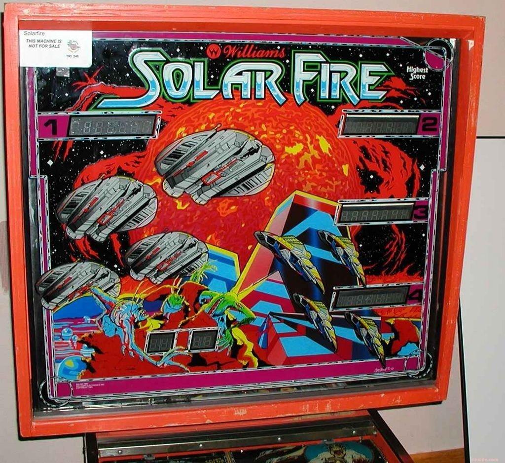 Solar Fire Pinball Mods