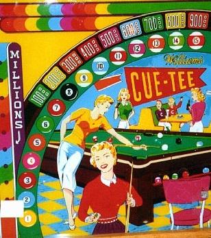 Cue-Tee Pinball Mods