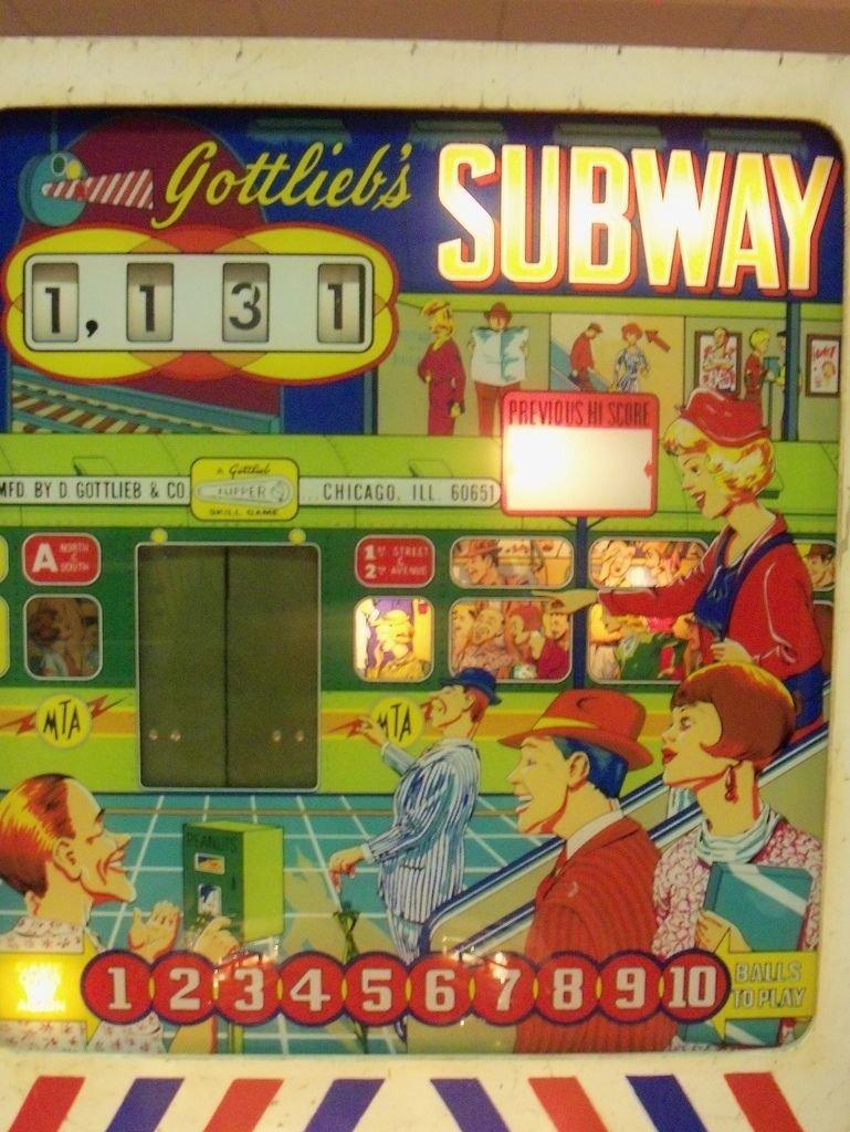 Subway Pinball Mods
