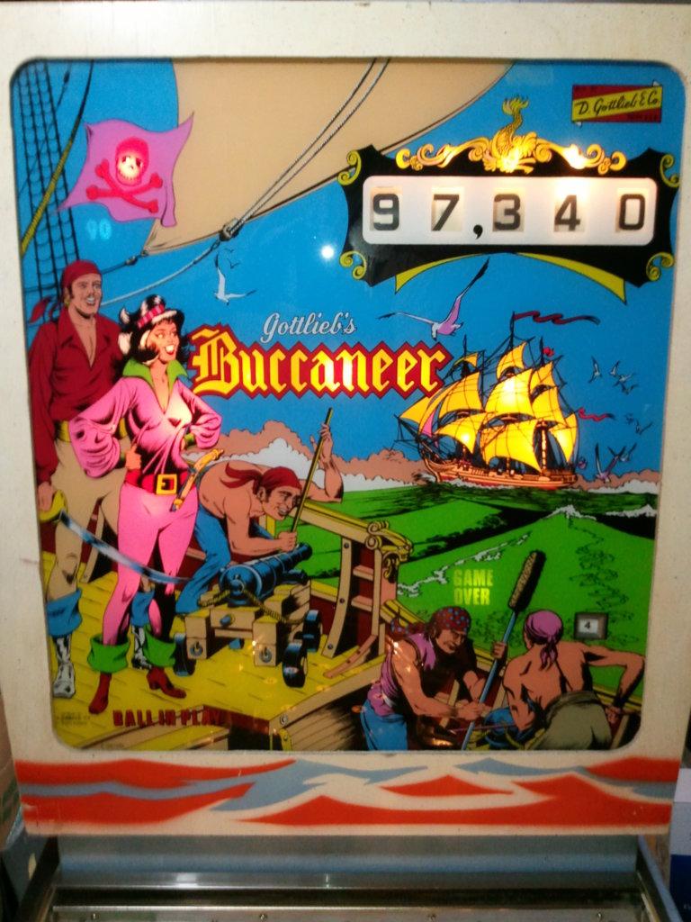 Buccaneer Pinball Mods
