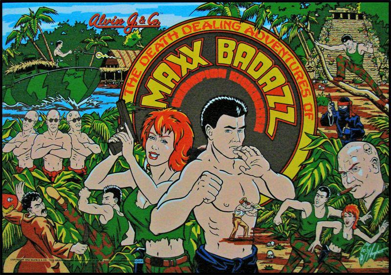 Maxx Badazz Pinball Mods