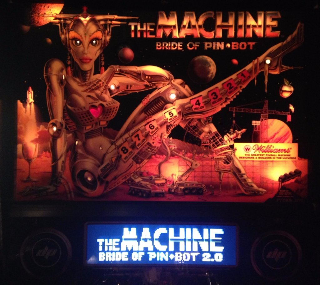 Bride of Pinbot 2.0 Pinball Mods