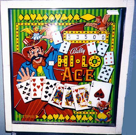 Hi-Lo Ace Pinball Mods
