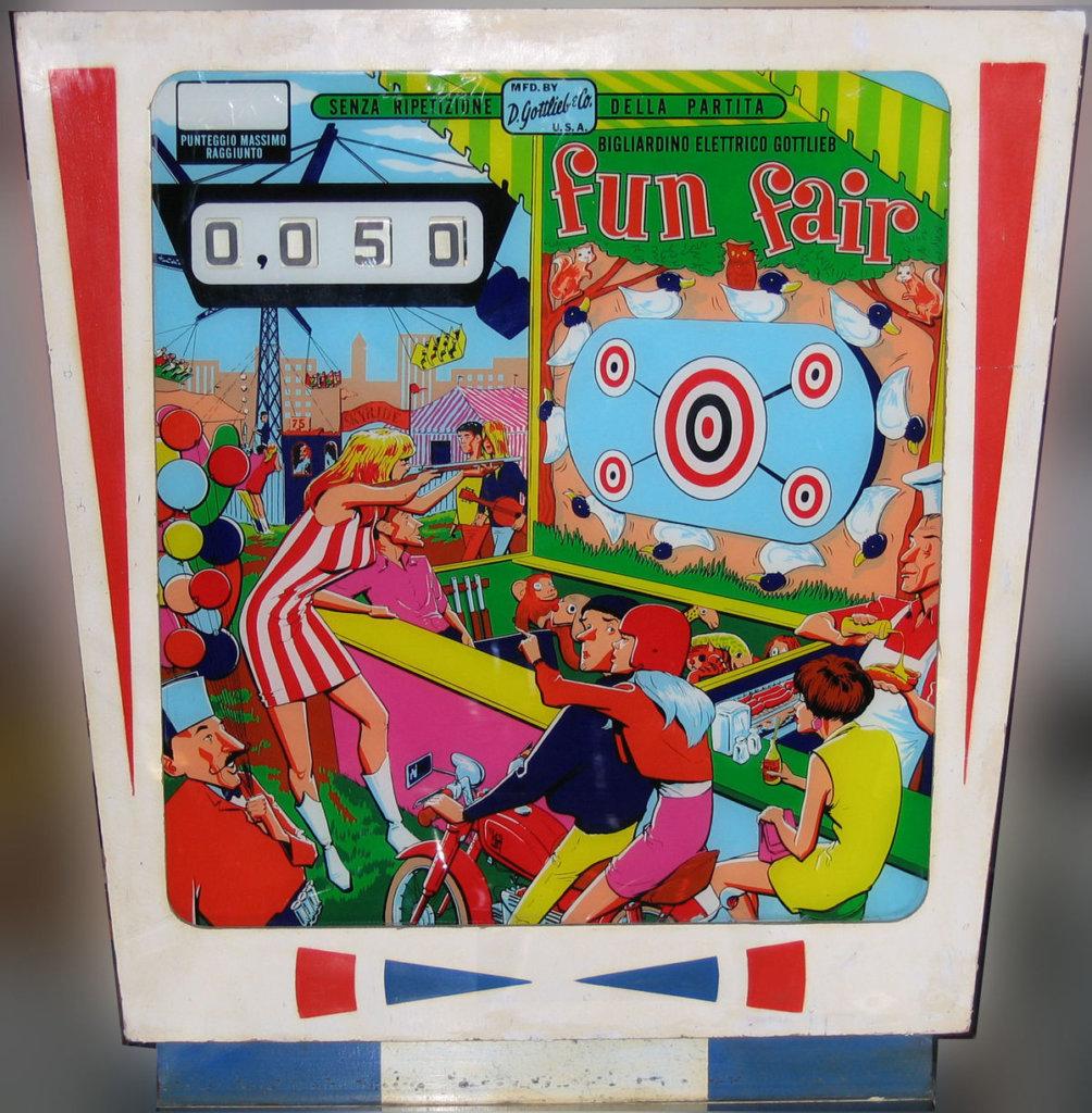 Fun Fair Pinball Mods