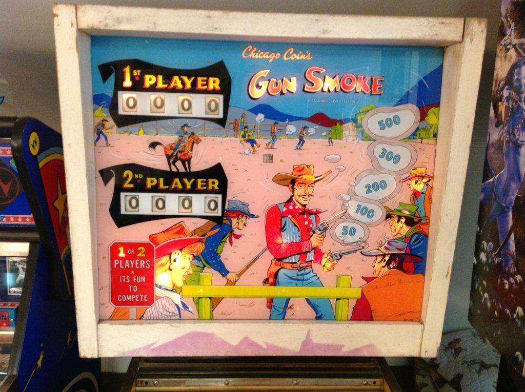 Gun Smoke Pinball Mods