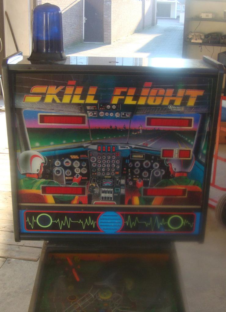 Skill Flight Pinball Mods