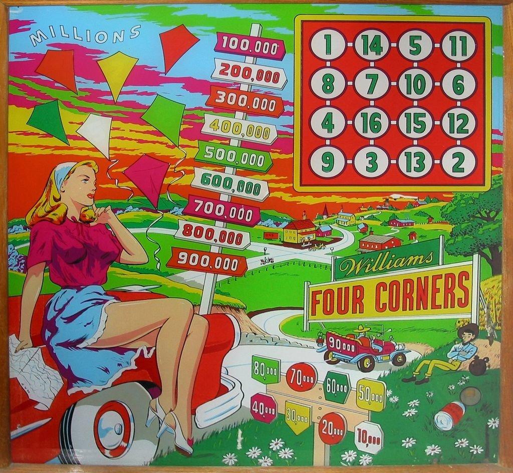 Four Corners Pinball Mods