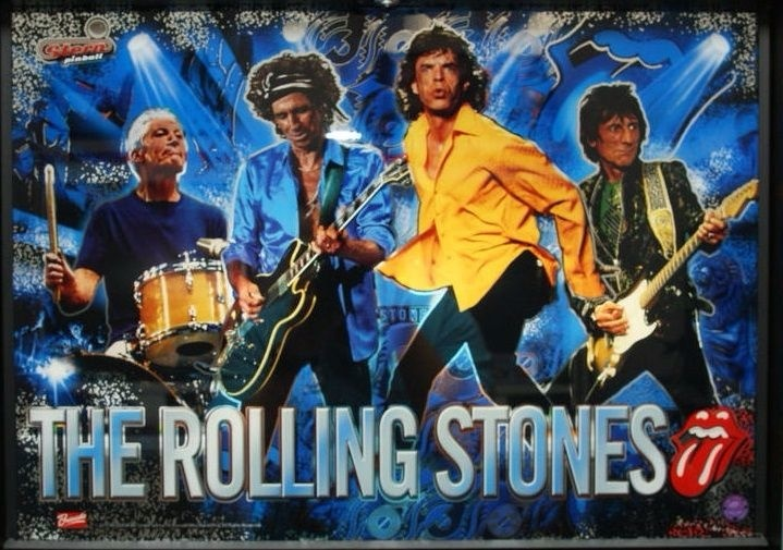 The Rolling Stones (LE) Pinball Mods