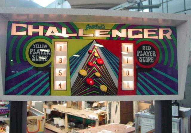 Challenger Pinball Mods