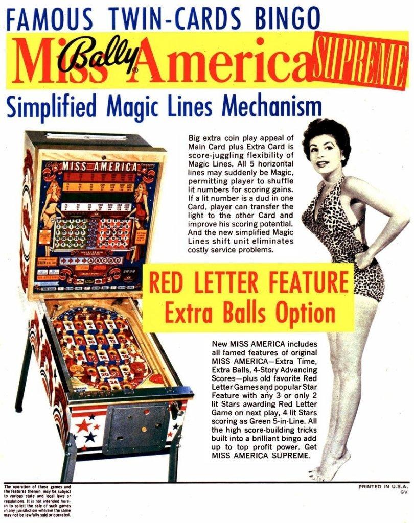 Miss America Supreme Pinball Mods