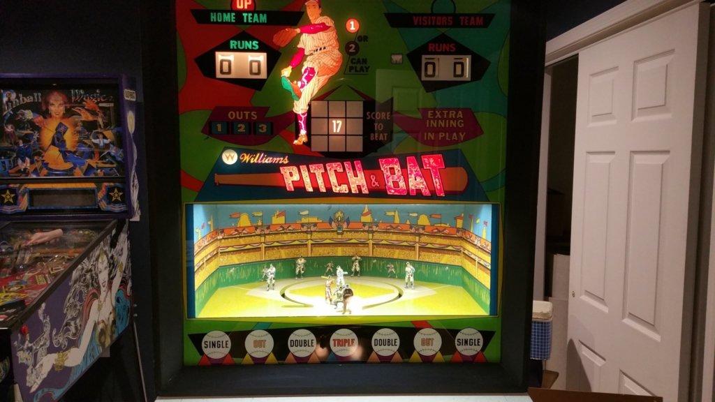 Pitch and Bat Pinball Mods