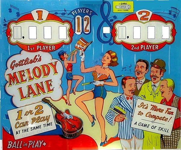 Melody Lane Pinball Mods