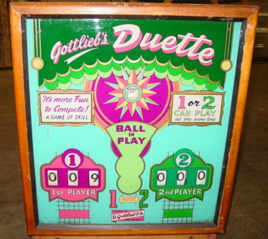 Duette Pinball Mods