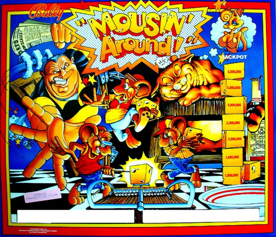 Mousin' Around! Pinball Mods