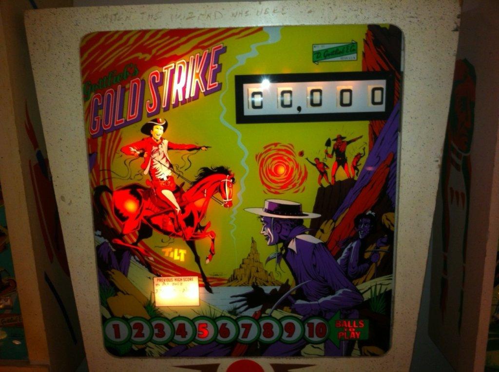 Gold Strike Pinball Mods