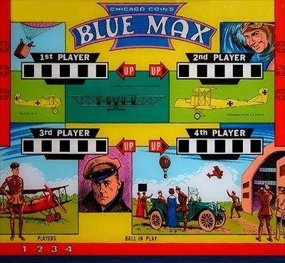 Blue Max Pinball Mods