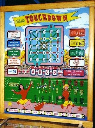 Touchdown Pinball Mods