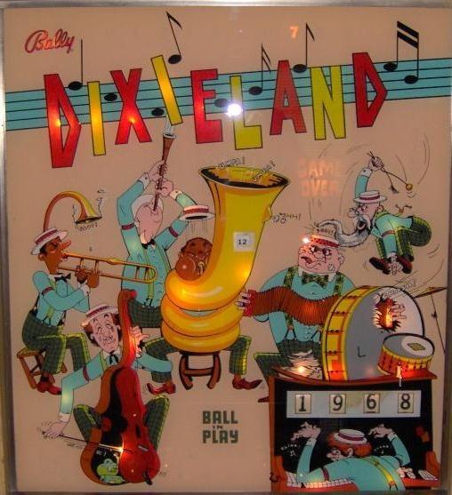 Dixieland Pinball Mods