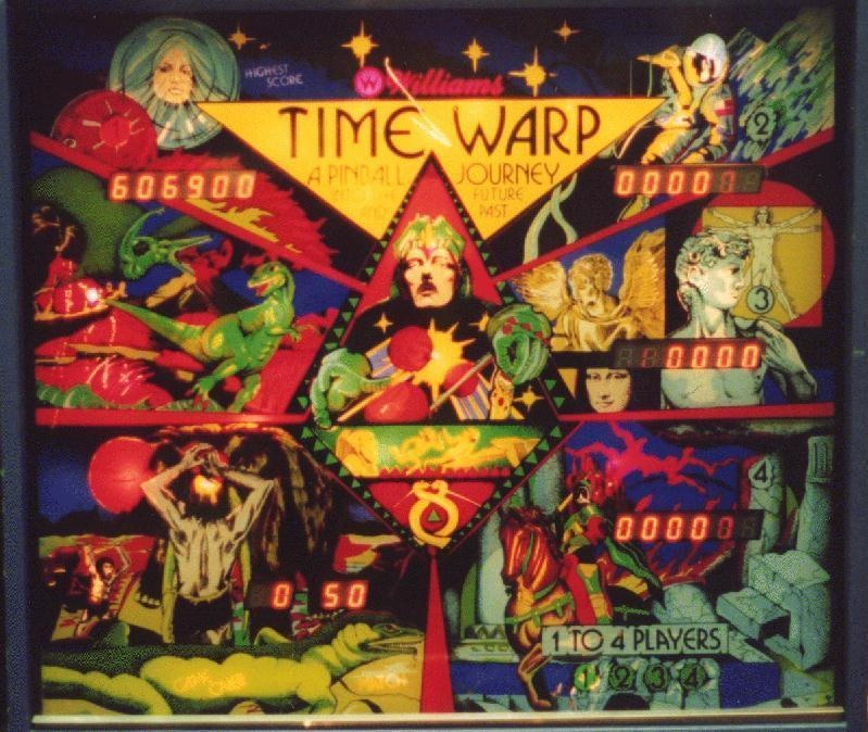 Time Warp Pinball Mods